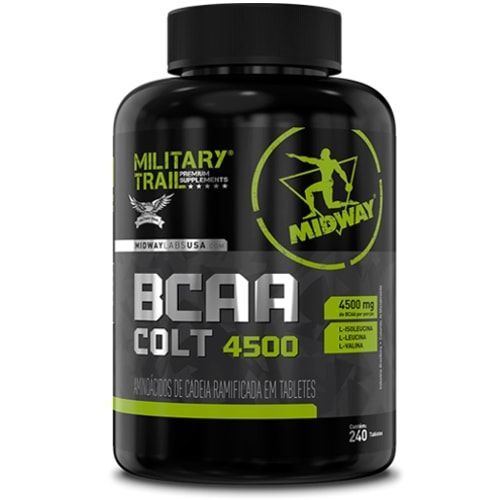 Bcaa Colt 4500 240tabs - Military Trail  - Personall Suplementos