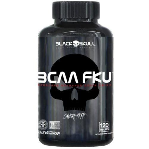 BCAA FKU 120tabs - Black Skull  - Personall Suplementos