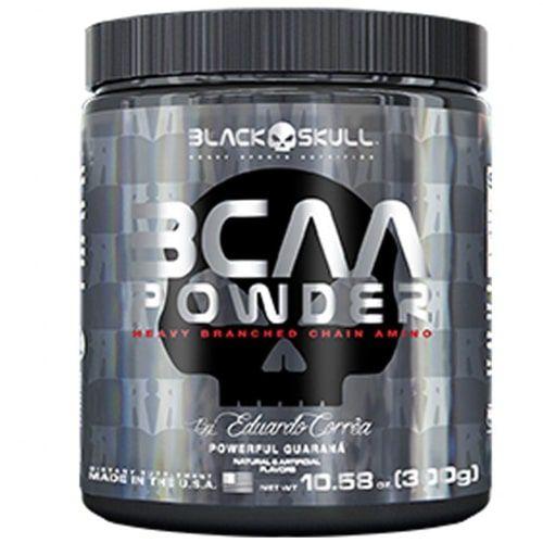 BCAA Powder 300g - Black skull   - Personall Suplementos