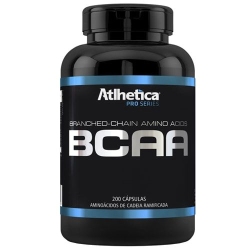 BCAA Pro Series 200 caps - Atlhetica Nutrition  - Personall Suplementos