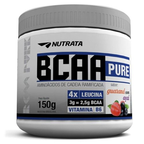 BCAA Pure 150g - Nutrata  - Personall Suplementos