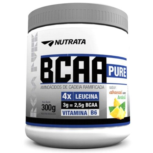 BCAA Pure 300g - Nutrata  - Personall Suplementos