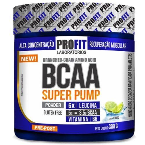 BCAA Super Pump 300g - Profit   - Personall Suplementos