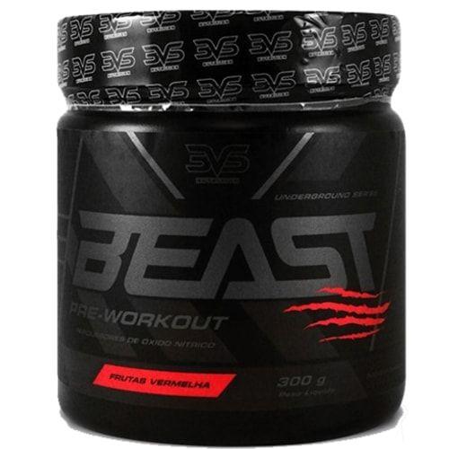 Beast Pré Treino 300g - 3vs  - Personall Suplementos