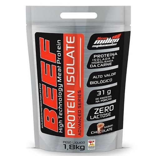 Beef Protein Isolate 1,8kg - New Millen   - Personall Suplementos
