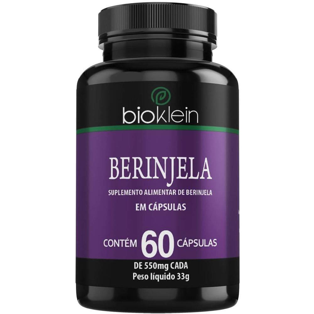 Berinjela 550mg 60 cápsulas - Bioklein