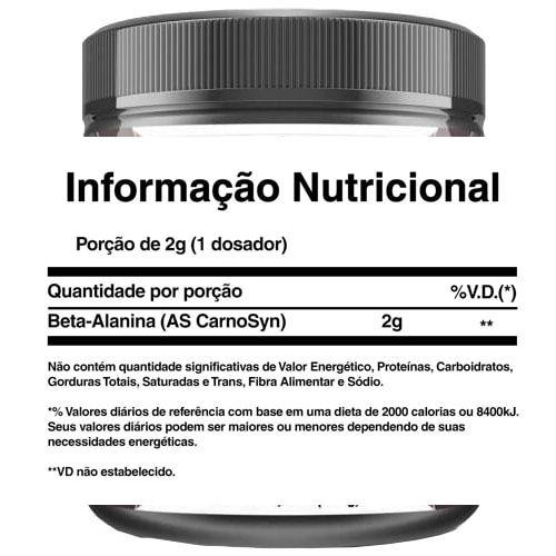 Beta Alanina 200g - NBF  - Personall Suplementos