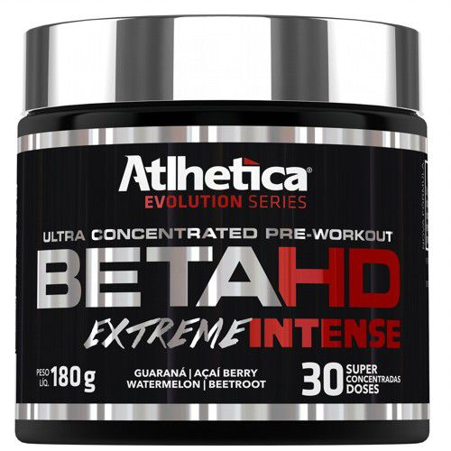 Beta HD Extreme Intense 180g - Atlhetica Nutrition  - Personall Suplementos
