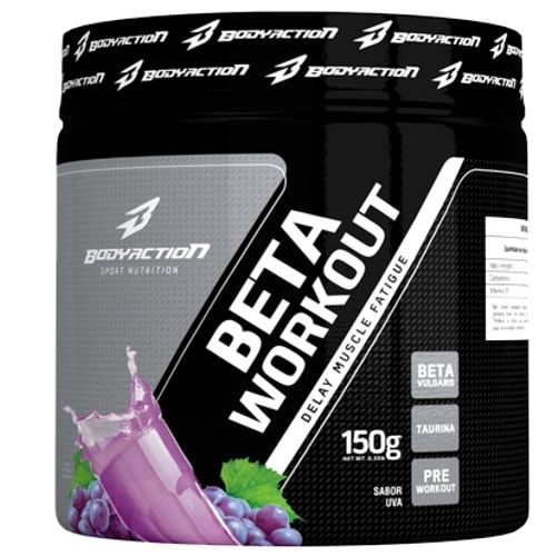 Beta Workout 150g - Body Action  - Personall Suplementos