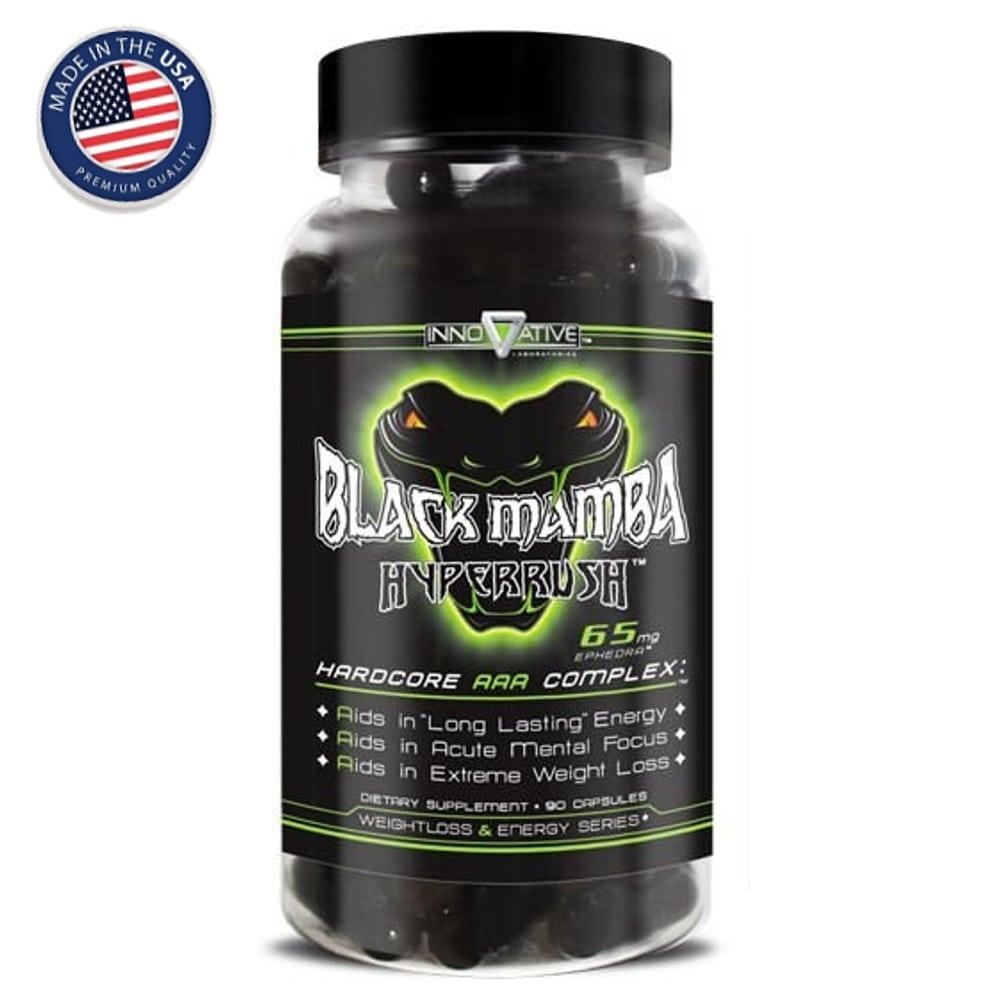 Black Mamba Hyperrush 90 cápsulas- Innovative  - Natulha