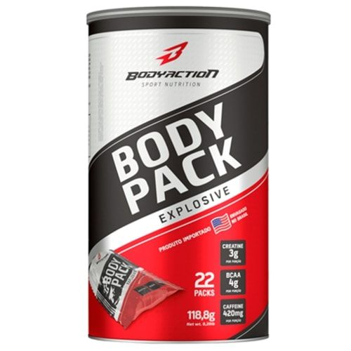 Body Pack Explosive 22packs - Body Action  - Personall Suplementos