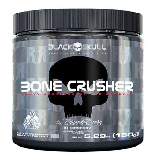 Bone Crusher 150g - Black Skull   - Personall Suplementos