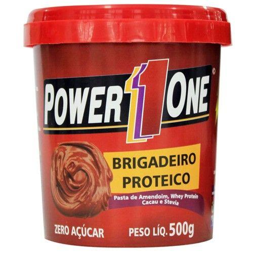 Brigadeiro Proteico 500g - Power One  - Personall Suplementos