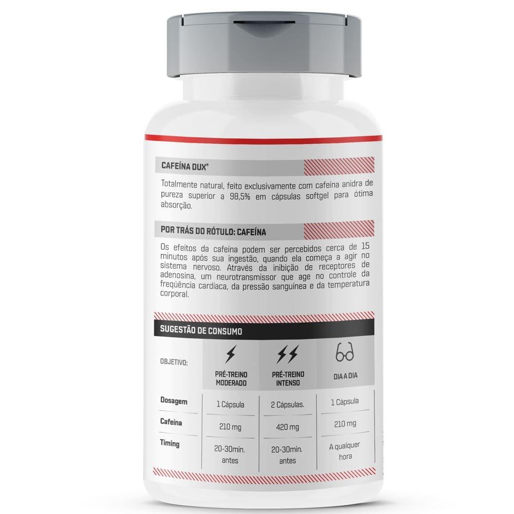 Cafeína 90 cápsulas - Dux Nutrition  - Natulha