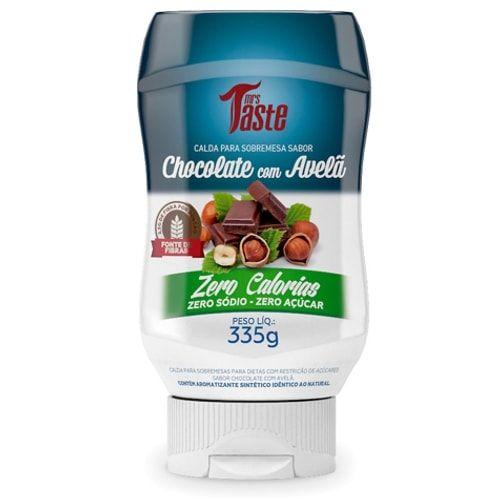 Calda Chocolate e Avelã 335g - Mrs Taste  - Personall Suplementos