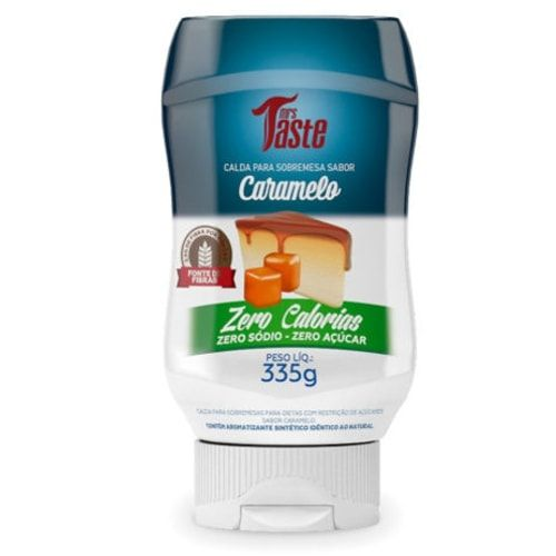 Calda De Caramelo 335g - Mrs Taste  - Personall Suplementos