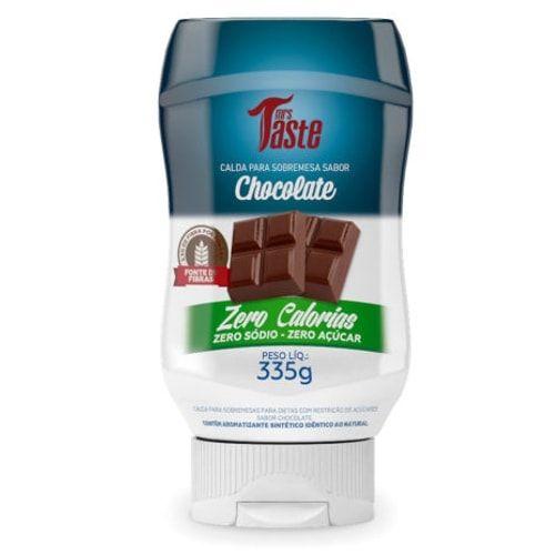 Calda de Chocolate 335g - Mrs Taste  - Personall Suplementos