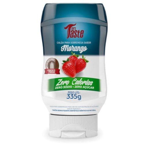 Calda de Morango 335g - Mrs Taste  - Personall Suplementos