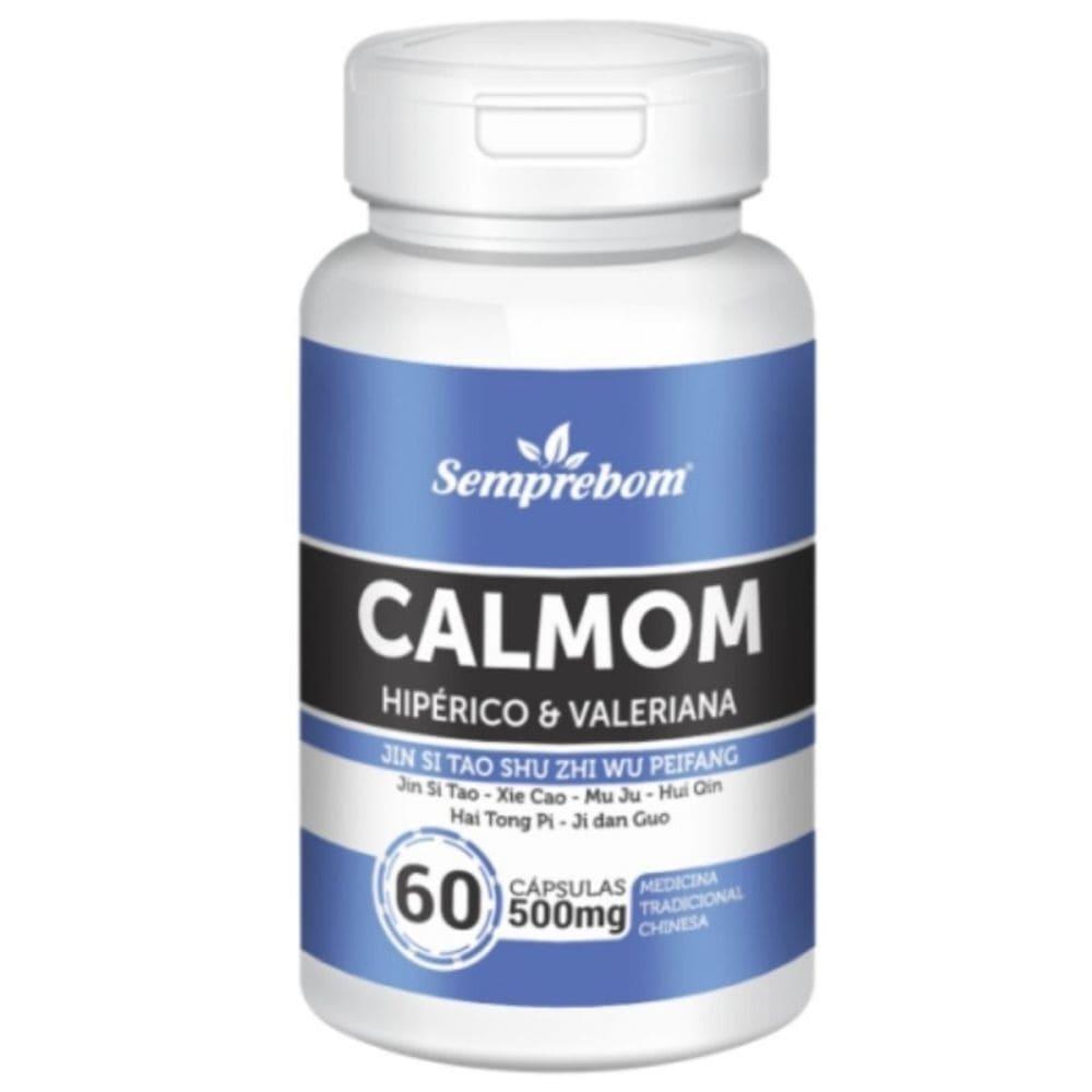 Calmom ( Calmante Natural) 60 cápsulas - Semprebom