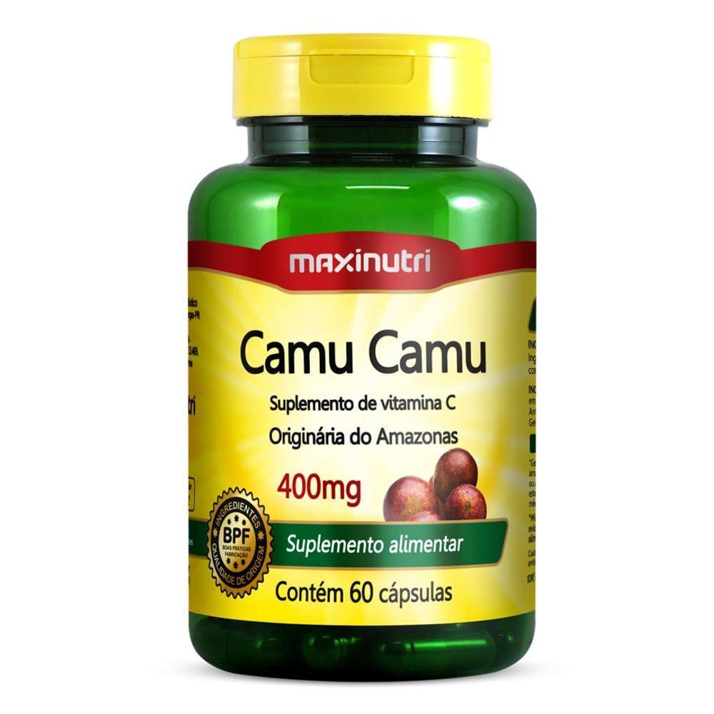 Camu Camu 60caps 400mg - Maxinutri  - Natulha