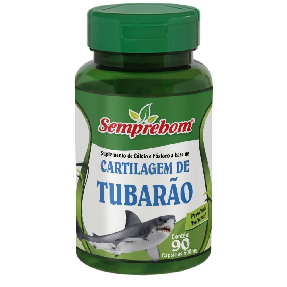 Cartilagem de Tubarão 90 cápsulas - Semprebom
