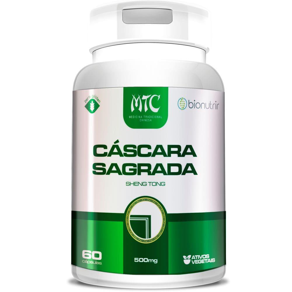 Cáscara Sagrada 500mg 60 cápsulas - Bionutrir