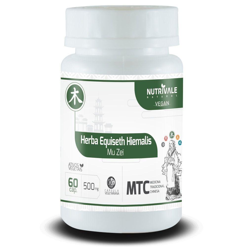 Cavalinha - Herba Equiseth Hiemalis - 60 cápsulas - Nutrivale  - Natulha