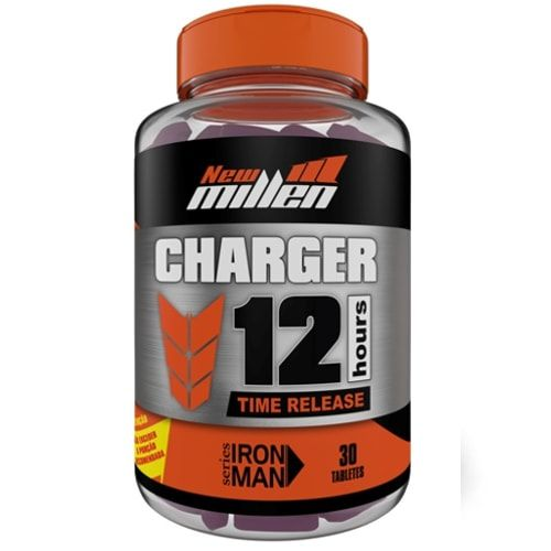 Charge 12 Hours 30tabs - New Millen  - Personall Suplementos