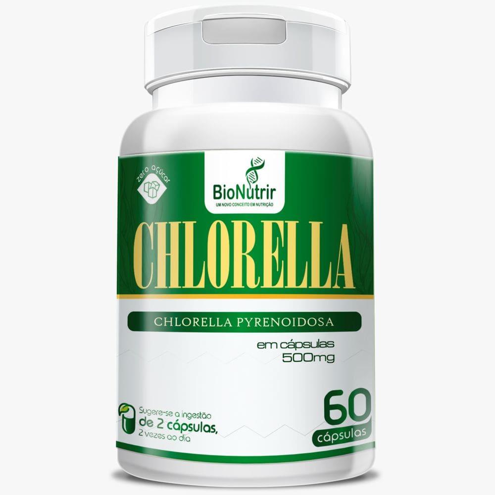Chlorella 500mg 60 cápsulas - Bionutrir