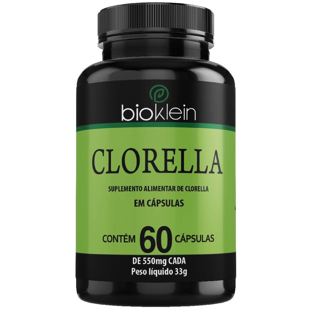 Chlorella (Clorella) 550mg 60 cápsulas - Bioklein