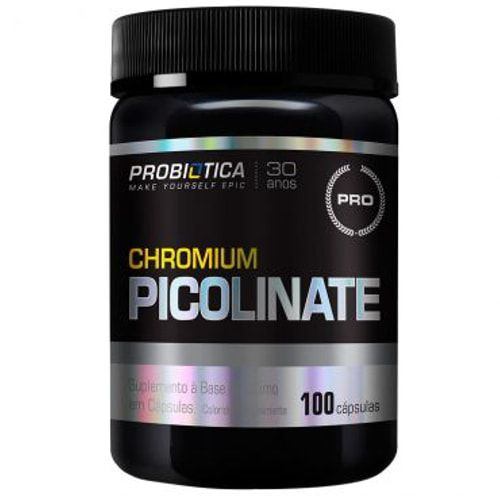 Chromium Picolinate 100caps - Probiótica  - Personall Suplementos