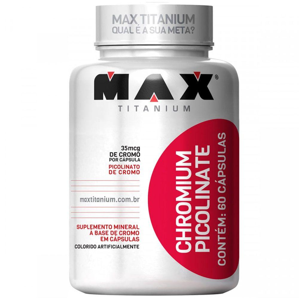 Chromium Picolinate 60caps - Max Titanium  - Personall Suplementos
