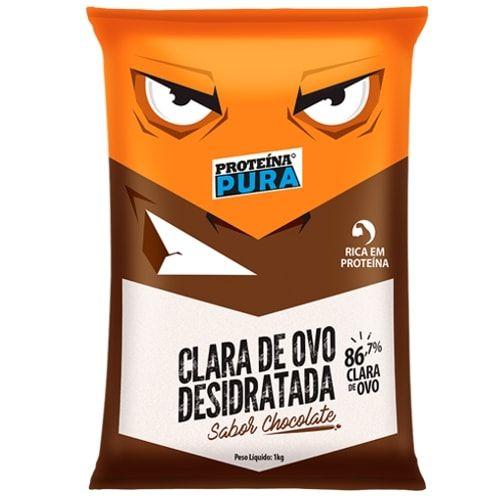 Clara de Ovo Desidratada 1kg - Proteína Pura  - Personall Suplementos