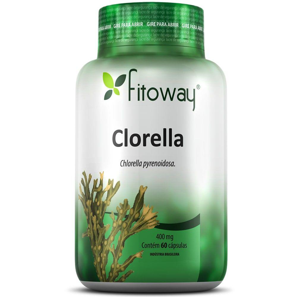 Clorella 400mg 60 cápsulas - Fitoway
