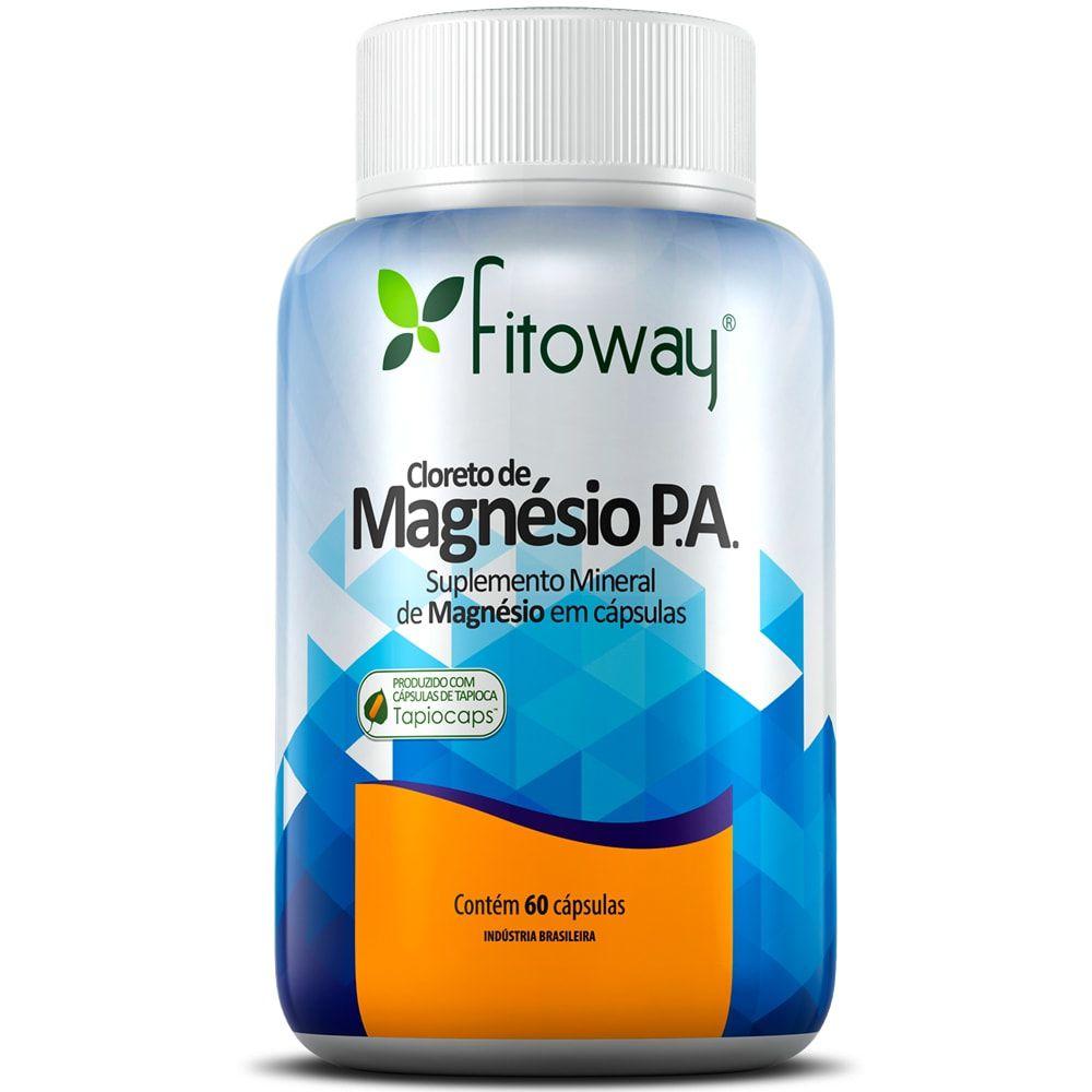 Cloreto de Magnésio P.A. 60 Cápsulas - Fitoway
