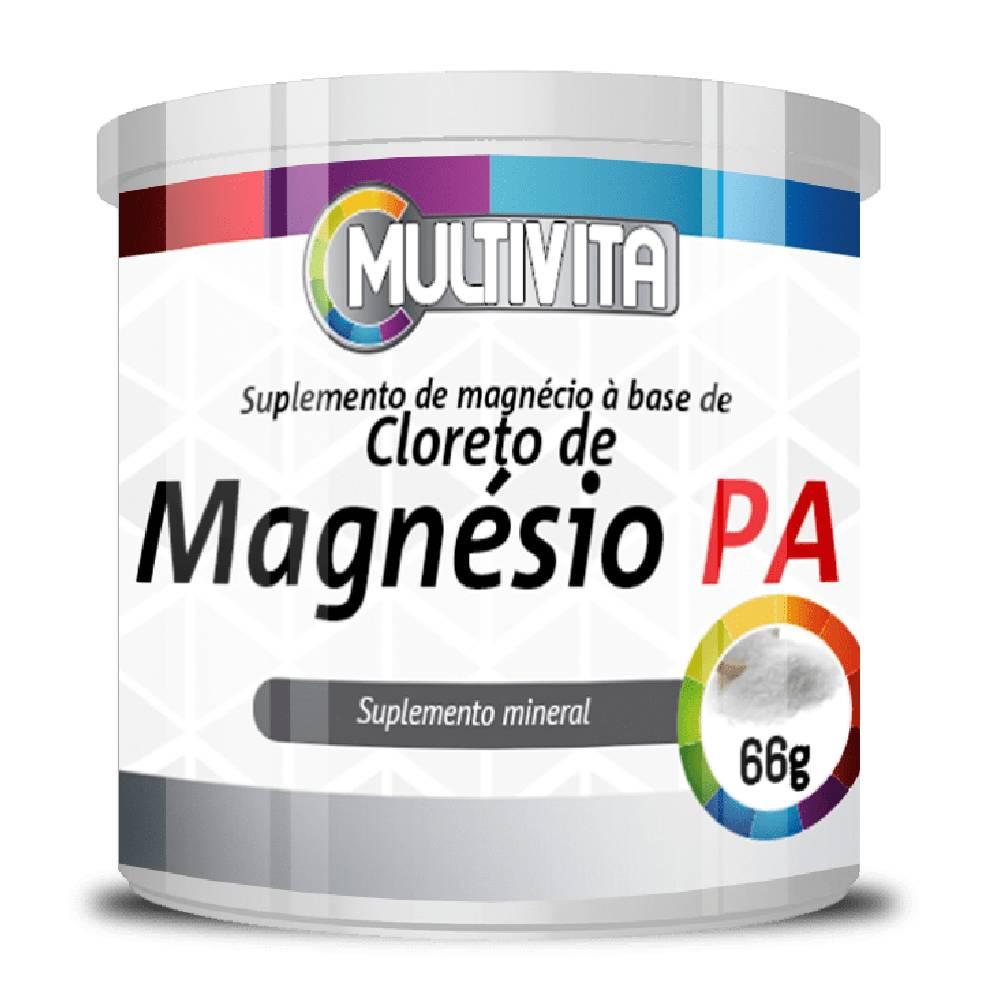 Cloreto de Magnésio P.A  66g - Multivita