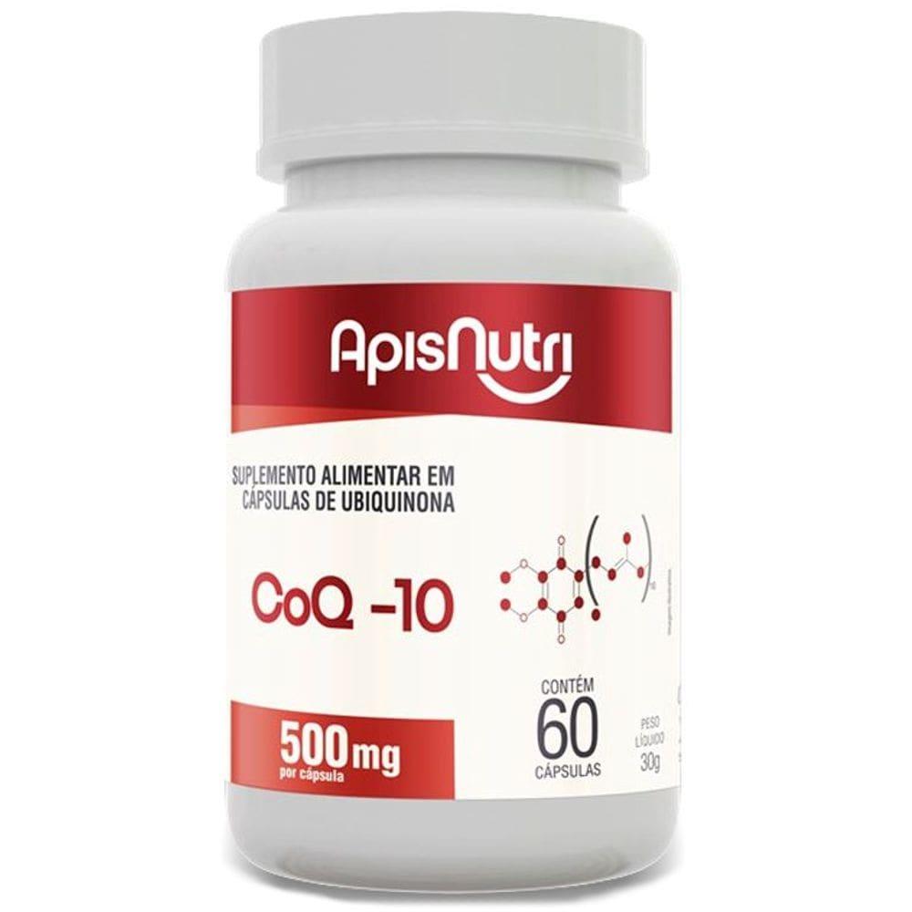 Coenzima Q10 100mg 60 Cápsulas - Apisnutri