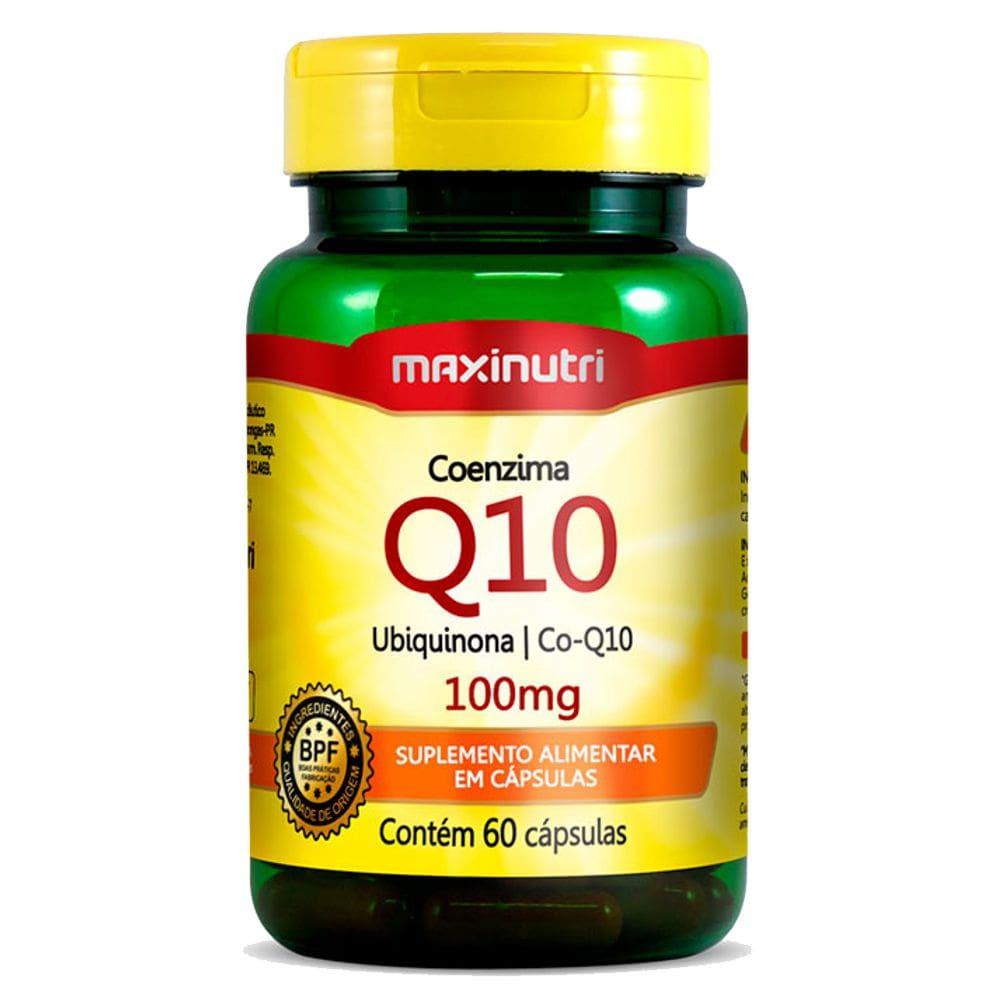 Coenzima Q10 100mg 60 Cápsulas - Maxinutri