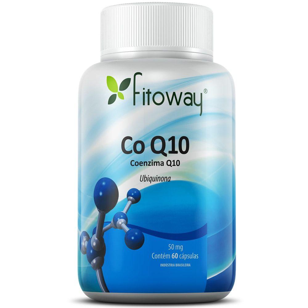 Coenzima Q10 50mg 60 cápsulas - Fitoway