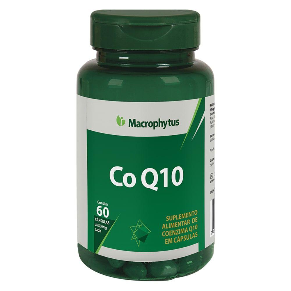 Coenzima Q10 50mg 60 cápsulas - Macrophytus