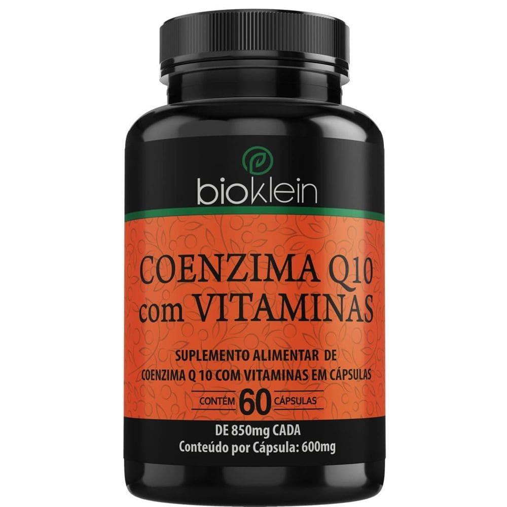 Coenzima Q10 com vitaminas 60 Cápsulas - Bioklein