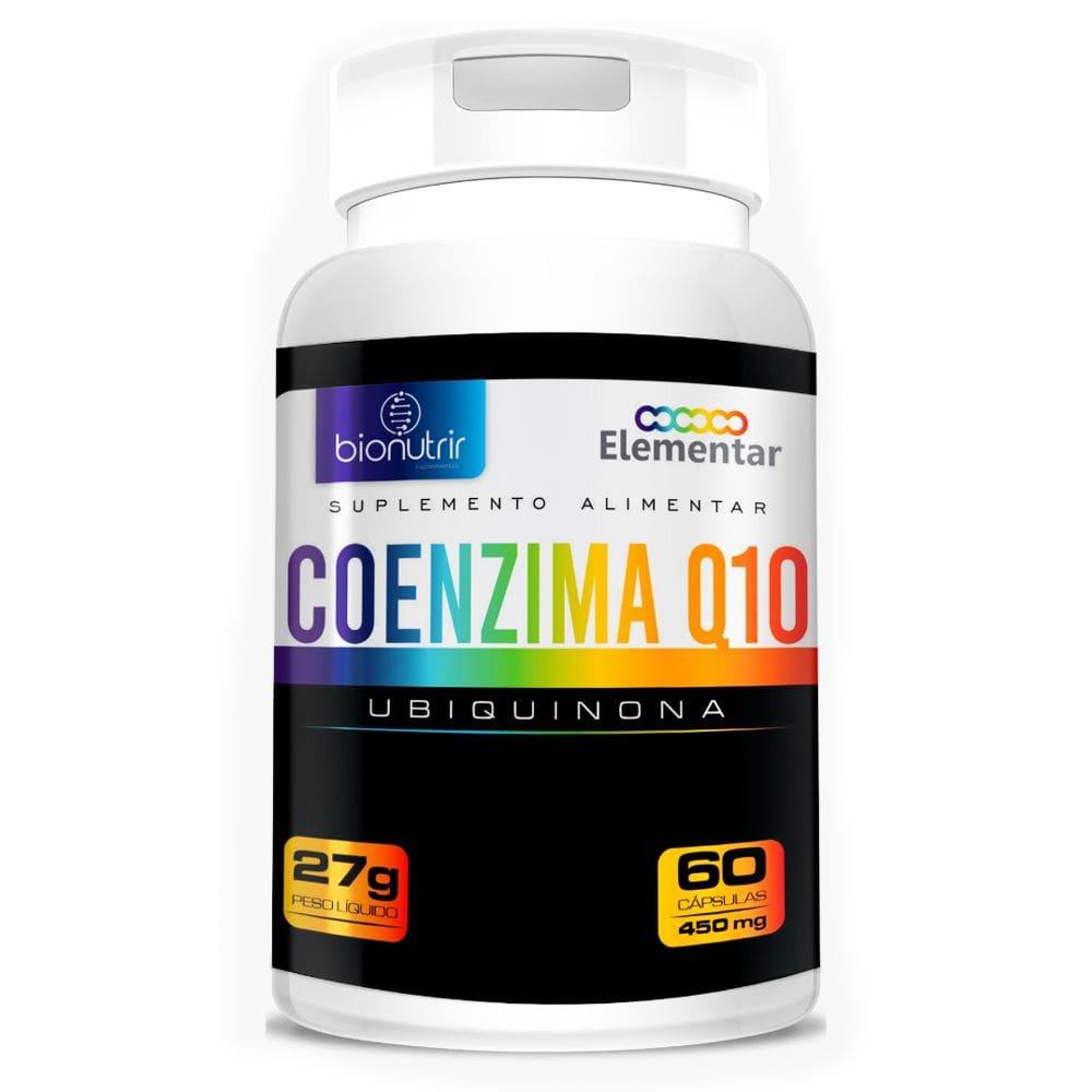 Coenzima Q10 (Ubiquinona) 100mg + Vitamina E e Selênio 60 Cápsulas - Bionutrir