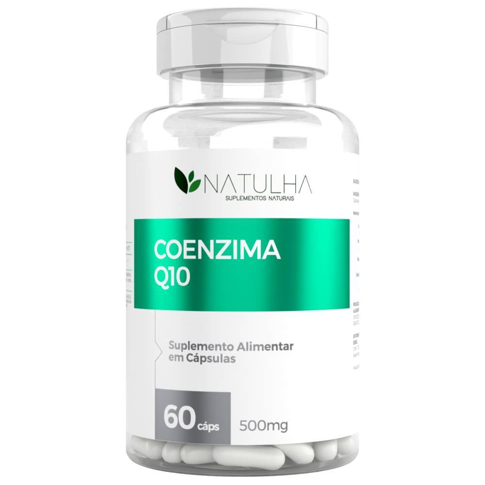 Coenzima Q10 (Ubiquinona) 60 Cápsulas - Natulha