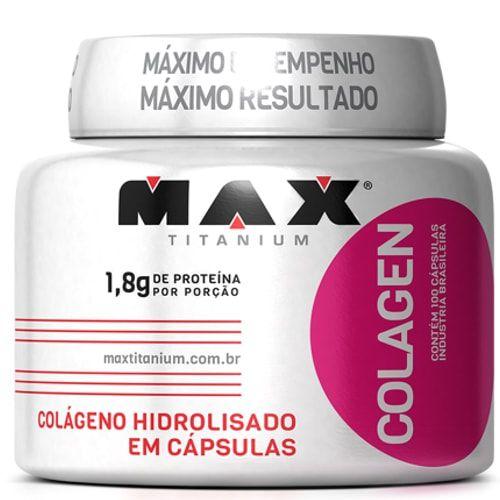Colagen 500 100Caps - Max Titanium  - Personall Suplementos