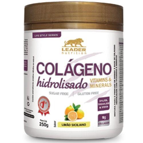 Colágeno Hidrolisado 250g - Leader Nutrition  - Personall Suplementos
