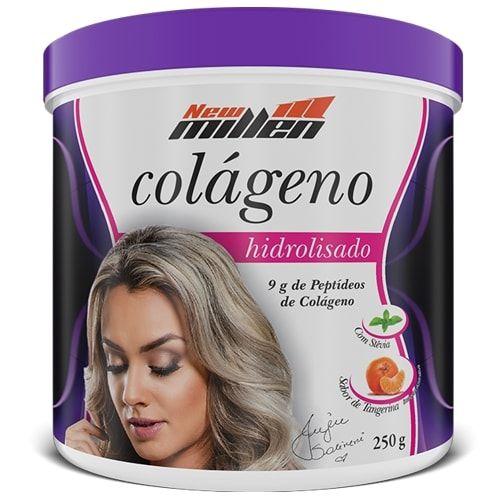 Colágeno Hidrolisado 250g - New Millen  - Personall Suplementos