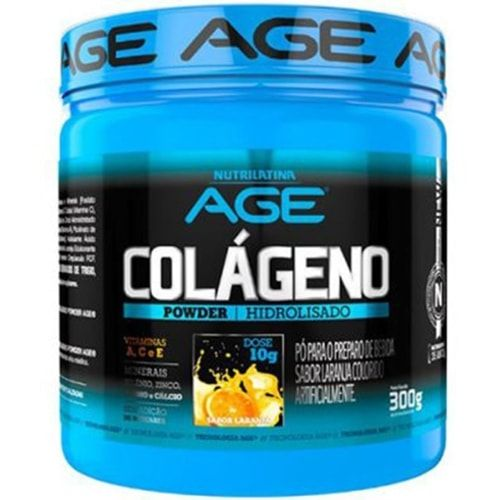 Colageno Powder 300g - Nutrilatina AGE  - Personall Suplementos