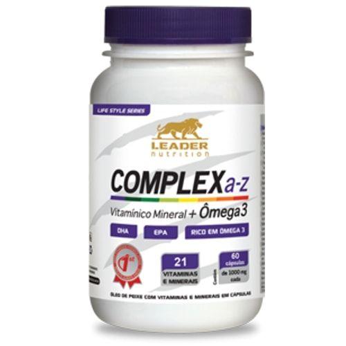 Complex A-Z 60caps - Leader Nutrition  - Personall Suplementos