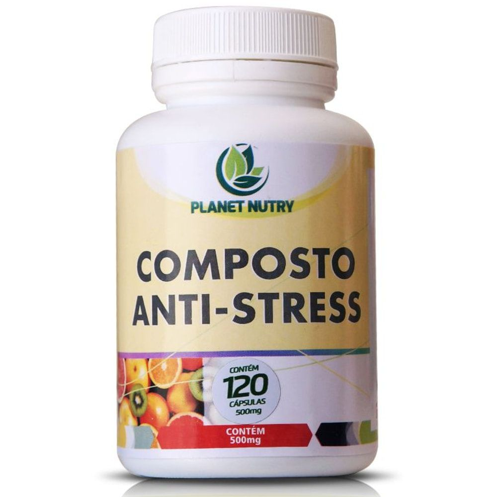 Composto Anti-Stress 60 cápsulas - Planet Nutry  - Natulha