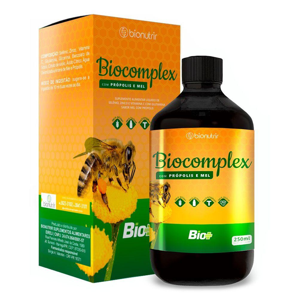 Composto de Mel e Própolis 250ml - Bionutrir